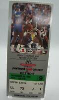 Portland Trailblazers NBA Game Ticket Stub 11/26/89 Isiah Thomas Terry Porter