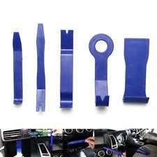 5 Pieces Car Door Plastic Trim Panel Dash Installation Removal Pry Tool Kit BLUE