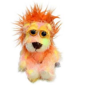 Russ Berrie Lion Berto Orange Plush Soft Stuffed Animal Toy Washed & Clean 27cm