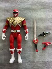 power rangers legacy bandai red ranger figure loose dragon dagger