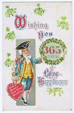 Wishing You 365 Days of Love and Happiness New Years patriot M. L . Jackson #78