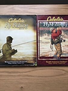 Cabelas Fly Fishing Catalogs 2007 & 2008