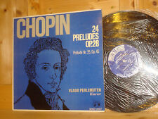 Chopin 24 Preludes op.28 VLADO PERLEMUTER Piano Swiss TURICAPHON LP MMS-2207 NM