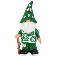 Boston Celtics Christmas Ugly Sweater Gnome Forever Collectibles NBA