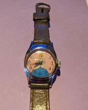 Vintage Cinderella Watch Walt Disney Timex original leather strap Still Runs