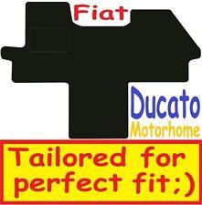Qualità Su Misura Deluxe Tappetini auto Fiat Ducato Camper 2015-2017 ** NERO **
