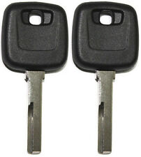 2 NEW FOR VOLVO S40 V40 1999-2004 UNCUT CHIPLESS KEY CASE/SHELL ONLY