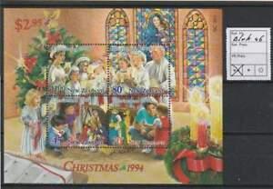 Nieuw-Zeeland postfris 1994 MNH block 46 - Kerstmis / Christmas (S2606)