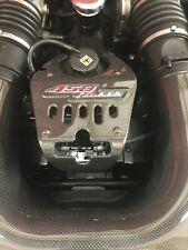 Ferrari 458 Italia carbon fibre lock cover