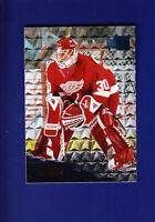Chris Osgood 1995-96 Fleer Metal Hockey #49 (MINT) Detroit Red Wings