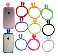 Universal Silicone iPhone,Samsung Bunny Ears Cell Phone Case Bumper Soft Cover