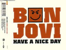 Bon Jovi Have a Nice Day CD/Video  Australia 2005..Vid of Have a Nice Day