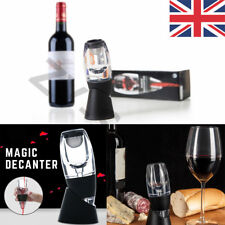 UK Wine Aerator Decanter Filter Red White Wine Flavour Enhancer and Stand Gift