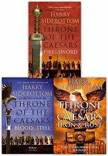 Throne of the Caesars Series Collection 3 Books Set Iron & Rust, Blood and Steel