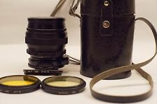 Helios 40-2 85mm f/1,5 lens №771714 made in USSR 1977 year