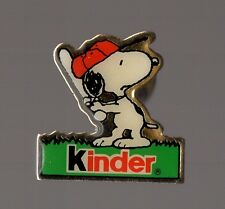 Pin's Snoopy / Kinder