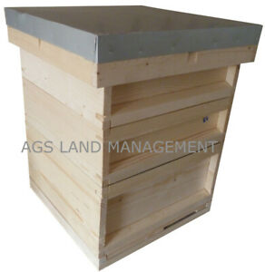 🐝National bee hive with brood box and two supers. Beekeeping beehive kit  hives