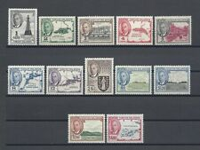 BRITISH VIRGIN ISLANDS 1952 SG 136/47 MNH Cat £50
