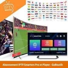 IP*TV Smarters Pro Abonnement 12 mois(✔️M3U✔️SMART TV✔️ANDROID✔️MAG)optionAdult