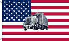 USA Truck USA America 5ft x3ft (150cm x 90cm) Flag