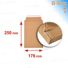 50 Enveloppes/pochettes carton rigide 176x250  B-Box 1