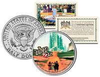 WIZARD OF OZ Emerald City JFK  Kennedy Half Dollar U.S. Coin *Licensed*