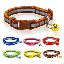 Reflective Pet Collar for Small Dogs Cats Dot Print Cute Extra Puppy Collar Bell
