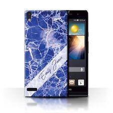 Fundas Para Huawei Ascend P color principal azul para teléfonos móviles y PDAs