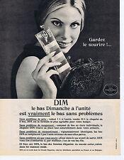 PUBLICITE ADVERTISING 1961 074 DIM le bas Dimanche à l'unité