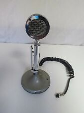 Vintage Astatic Model No. D-104 Microphone with Stand T-UG8 untested