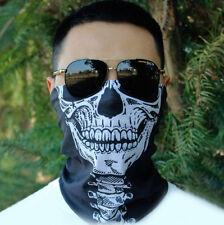 Masken-Schädel-Gesicht Tubular Kopfbedeckung Biker Ski Schal Halloween Cap aus