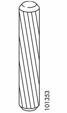 (1) x IKEA # 101353 50mm x 10mm Part Wood Dowels Furniture Replacement Parts