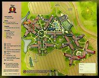 NEW 2021 Walt Disney World All Star Sports Resort + 4 Theme Park Guide Maps !!!!