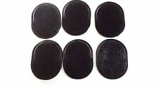 6 PIECES  POCKET HAIR BRUSH SOLID BLACK NEW