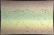 Cerj Lalonde Mixed Media Original Artwork on Paper, Hand Signed Fine Art, OBO