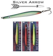 Hornfisch , Meerforelle u. Lachs - Blinker Silver Arrow 3 Farben Set 1