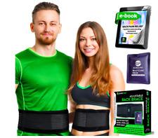 Corrective Back Brace for Men and Women - Lumbar Support Lower Back Pain Belt