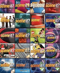 Scene It? DVD Board Game Replacement Disc for Different Editions - Disney n More