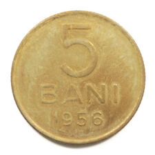 1956 People's Republic of Romania 5 Bani Coin in Uncirculated Condition. KM# 83.