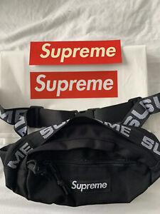 Supreme SS18 Waist Bag - Black