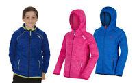 Regatta Dissolver Kids Boys Girls Hooded Fleece Jacket