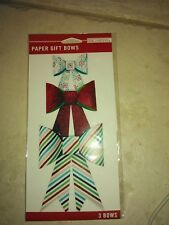 K&Company 30-700840 Multi Colored Paper Bows #1239 -NEW!!