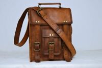 Bag Men's New Leather Vintage Shoulder Tote Brown Satchel Handbag New Bag