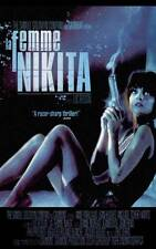 LA FEMME NIKITA Movie POSTER 27x40 C Anne Parillaud Jean-Hugues Anglade Tcheky