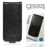 Gear4 Leather Flip Cover for Apple iPhone 5 5S SE Shockproof Wallet Case Luxury
