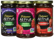 Polaner All Fruit Non-GMO Spreadable Fruit, Assorted Flavors, 15.25 oz (Pack of