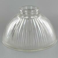 "HYALOPHANE DOME ~ Glass Lamp Shade ~ 6 5/8"" Dia. ~ 2 1/4"" Fitter ~ #GG34"