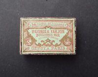 Ancienne boite plume BAIGNOL & FARJON 394 old nib nibs box pen pennini