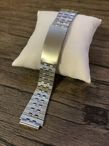 Bracelet Band For Watch Vintage Rare Stainless Steel Metal Strap 18 mm