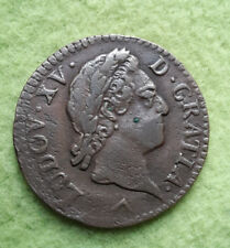 Liard 1770 Frankreich  Louis XV.  ss Cu